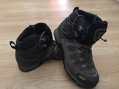 Ladies Asolo Gore-Tex Walking Hiking Boots in Brown UK 7.5 US 9 EUR 41 1/3 / 99p