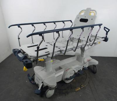 Stryker 1015 Glideaway Hydraulic Patient Transport Gurney Stretcher with Scale