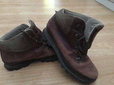 Classic Brasher Hillmaster Walking Hiking Boots in Brown UK 7 US 8.5 EUR 40 2/3