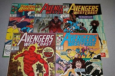 Small Avengers West Coast Collection (#49)_Average Grade Fine+ To F/vf_Marvel!