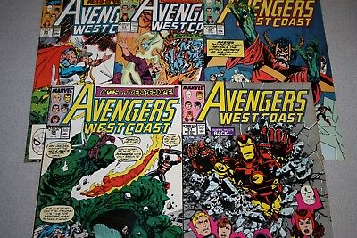 Small Avengers West Coast Collection (#51)_Average Grade Fine+ To F/vf_Marvel!