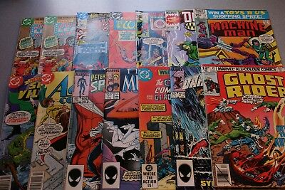 Small Marvel/dc Collection_Average Grade F/vf To Very Fine+_Marvel!