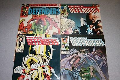 Small New Defenders Collection (#125)_Average Grade F/vf To Very Fine+_Marvel!