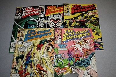 Small West Coast Avengers Collection (#31)_Average Grade Fine+ To F/vf_Marvel!