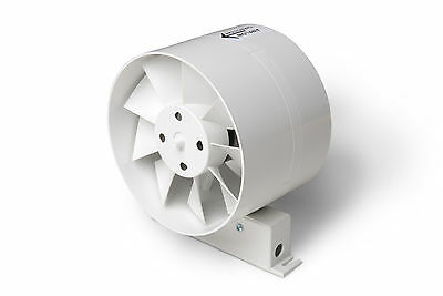 Manrose in-line ID standard fan, hydroponic, ventilation,ducting, pipe connector