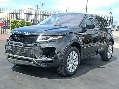 2016 Land Rover Evoque SE 2016 Land Rover Range Rover Evoque SE Wrecked Repairable Only 850 Mi L@@K Loaded