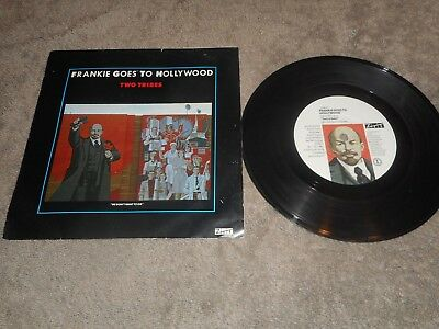 "Frankie Goes To Hollywood Two Tribes 7"" Single Record"
