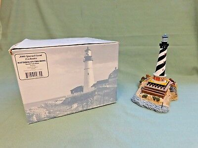 """Harbour Lights """"hatteras On-The-Move"""" North Carolina Lighthouse Sculpture #632"""
