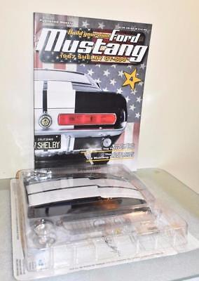 DeAGOSTINI BUILD YOUR OWN FORD MUSTANG SHELBY ISSUE 4 NEW & FACTORY SEALED