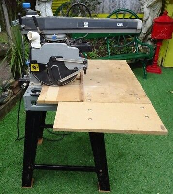 GOOD 240v ELU RAS1251 MULTI FUNCTION RADIAL ARM SAW ON STAND IN PWO