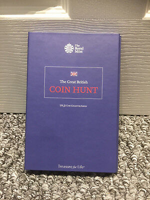 Royal Mint £1 One Pound Collector Album Book Great British Coin Hunt Coins