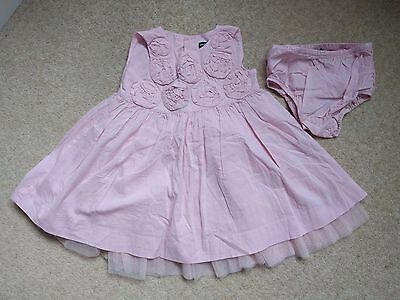 12-18 month BabyGap Baby Pink Roses Full Skirted Dress