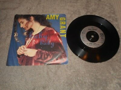 "Amy Grant - Baby Baby 7"" Single Record"