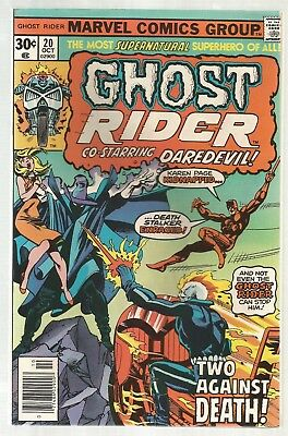 Ghost Rider #20! VF/NM Condition 9.0!!
