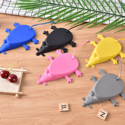 Creative Mouse Shaped Door Stop Silicone Rubber Mouse Door Stop Wedge MW