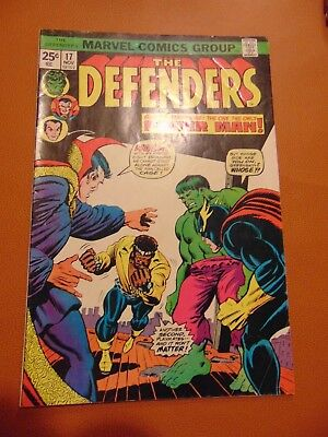THE DEFENDERS #17 (Nov 1974, Marvel)   Power Man First Appearance WRECKING CREW