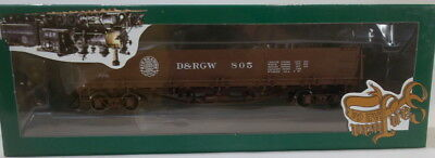 On3 RTR SJC DENVER & RIO GRANDE WESTERN DROP BOTTOM GON #805 FACTORY PAINTED NEW