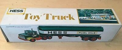 1978 Hess Tanker Truck with Box & Battery Instructions