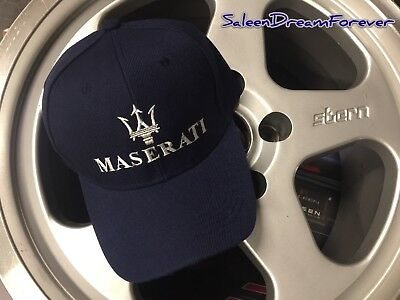 Maserati Racing Race Embroidered Hat Gran Turismo Ghibli 3500 Mc12 Levante Gt