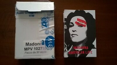 Madonna Set of 47 Postcards American Life era Italy-only PROMO Rebel Heart