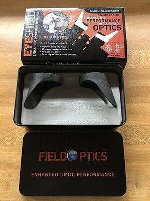 Field Optics Research Binocular EyeshieldvBino Eye Cups B001 & Free Ship 2 Avail