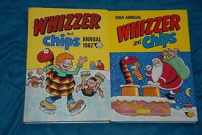 Whizzer and Chips x2 Annuals