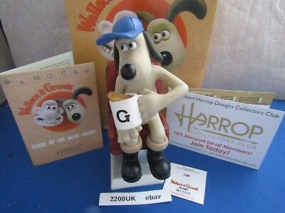 New Gromit Anti Pesto Curse Of Were Rabbit Thwg27 Robert Harrop Wallace & Gromit
