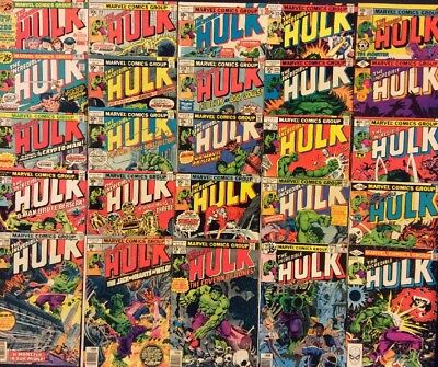 INCREDIBLE HULK #200 - 270 Comic Lot of 25 Issues 1st Appearance CONSTRICTOR 212