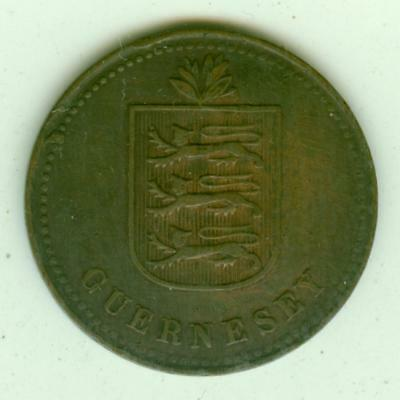 Guernsey 1918H 4 Doubles-Lot Y