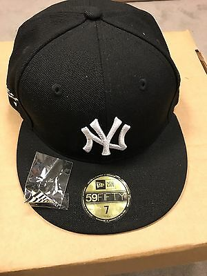 2a0914fb75386 NEW YORK YANKEES MLB New Era X Roc Nation 59FIFTY Cap Fitted Size 7 ...