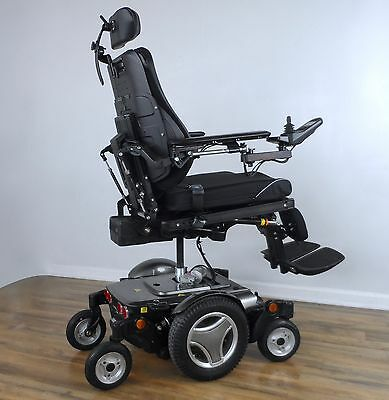 Permobil M300 3G power wheelchair - LOADED all power seating, New black tires