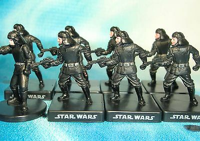 Star Wars Miniatures Lot  Death Star Trooper Alliance and Empire !!  s97