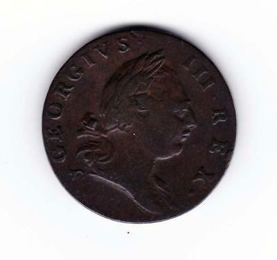 VF Colonial 1773 Virginia Half Penny Nice Detail **************