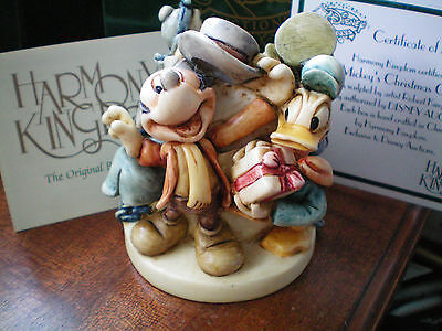 Harmony Kingdom Disney Mickey's Christmas Carol LE 500
