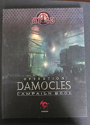 Operation Damocles Campaign Book  AT-43 Rackham