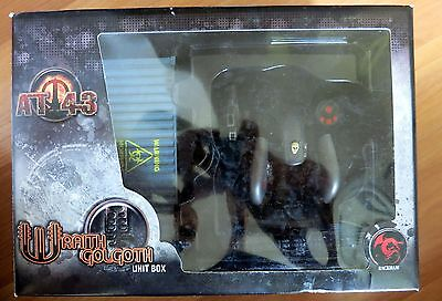 Wraith Golgoth Unit Box (black) AT-43 Rackham