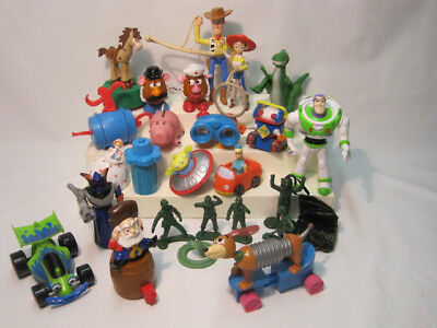 Toy Story Figures / HUGE Lot of 23 Toy Story Toys PLUS BONUS