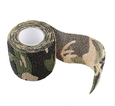 Camo Roll Tape Camouflage Stretchable Concealment Bandage Hunting