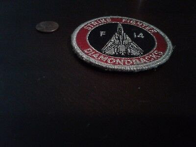"Vf-102 ""diamond Backs"" F-14 Squadron Patch Used, Good Condition"
