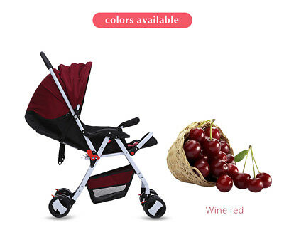 Pram Baby Joddger Stroller Infant Compact Lightweight Carry-on Travel Foldable