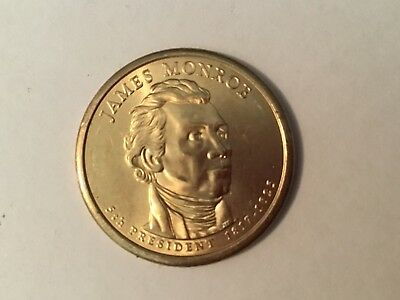 2008D James Monroe 'Presidential dollar'  coin.