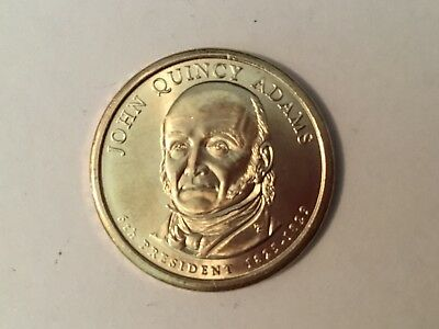 2008D  John Quincy Adams US Presidential dollar coin.