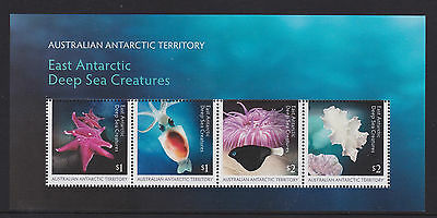 Australia 2017 : East Antarctic Deep sea Creatures, Minisheet MNH