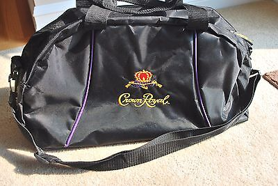 Crown Royal New Small Duffle Bag Travel Bag Gym Bag Carry On With Shoulder Strap