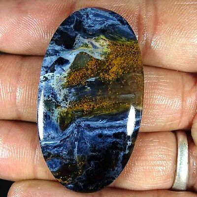 50.50Cts. 100% NATURAL EXCLUSIVE PIETERSITE OVAL CABOCHON LOOSE GEMSTONES