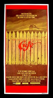 1983	CUJO ORIGINAL MOVIE POSTER :  Stephen King HORROR Cult Classic