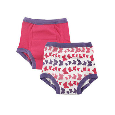 2-pack Baby Girl Training Pants Toilet Potty Training Underwear 3T(31-34lbs)
