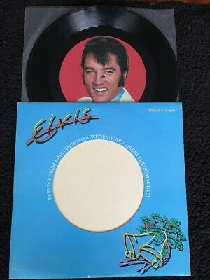 "Elvis Presley - It Won't Seem Like Christmas 12"" Vinyl Large Label RCA PC 9464"