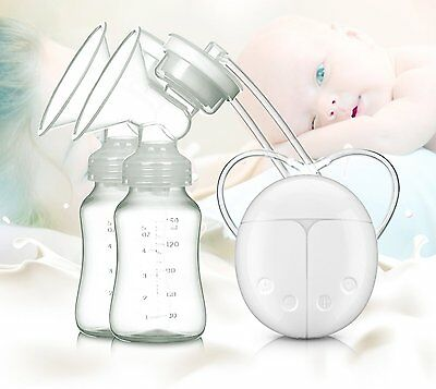 Automatic Double Intelligent Electric Hand Free Breast Pump Baby Feeder With USB