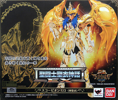 Bandai Saint Seiya Soul Of Gold Myth Cloth Ex God Cloth Scorpio Milo Scorpione
